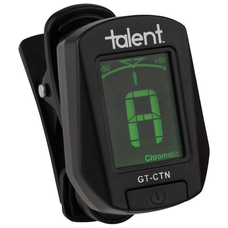 Talent GT-CTN Clip-On Guitar Tuner Chromatic/Guitar/Bass/Violin/Ukulele Talent GT-CTN