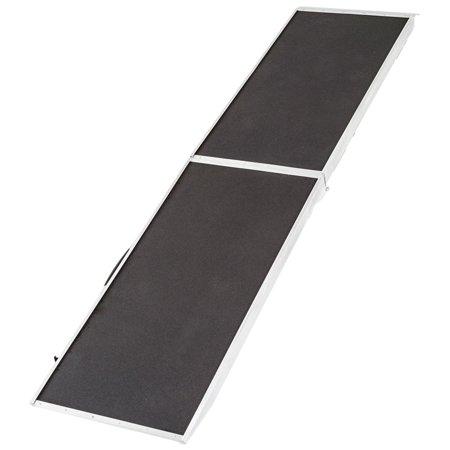 8 ft. Lightweight Extra Wide Folding Aluminum Pet Ramp