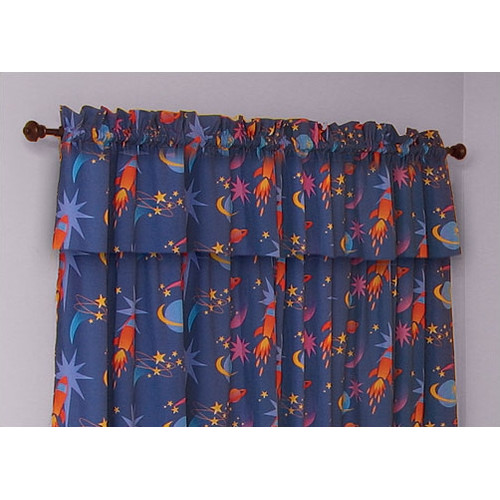 Room Magic Star Rocket 57'' Curtain Valance