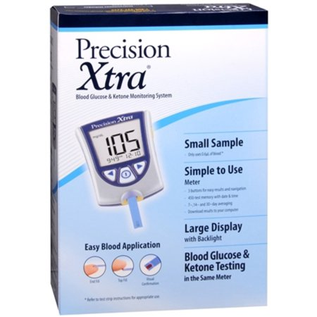 Abbott Precision Xtra Ketone Test Strips 10 Ea Strips
