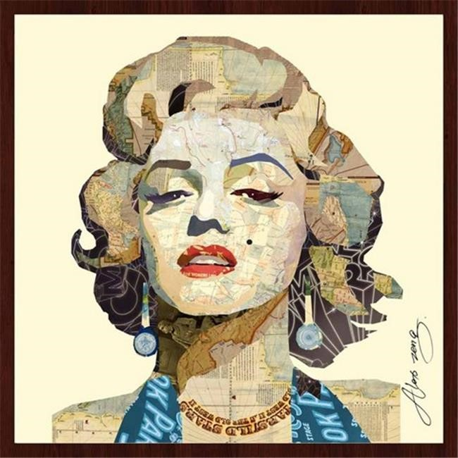 Empire Art Dimensional Art Collage - Homage to Marilyn