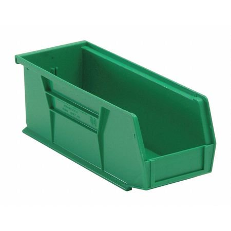 Quantum Storage Systems Green (Quantum Storage Systems 30 lb Capacity, Hang and Stack Bin, Green QUS224GN )