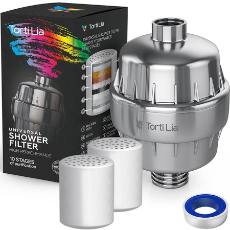 shower water filter multi-stage shower filter for hard water removes ...