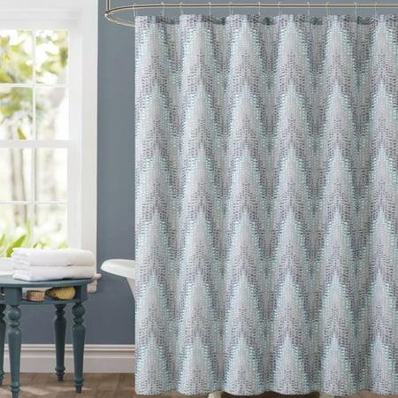 Luxury Home Chevron Shower Curtain