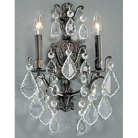 - Versailles Wall Sconce in Antique Bronze Finish (2)