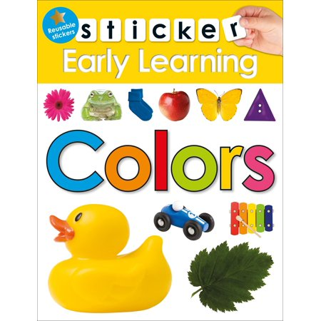 Sticker Early Learning: Colors (Learning Stickers)