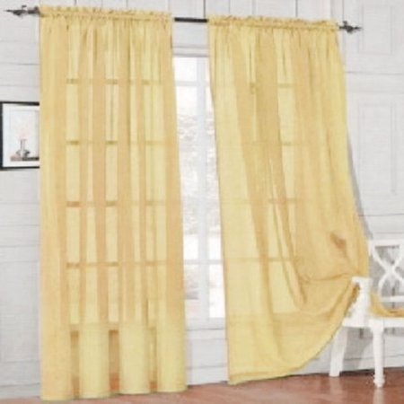 Sweetsmile Kitchen Tulle Curtains Translucidus Modern Home Window Decoration White Sheer Voile Curtains for Living Room - Decorations For Curtains