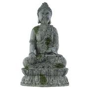 Meditating Buddha Sculpture in Bhumisparsha Mudra
