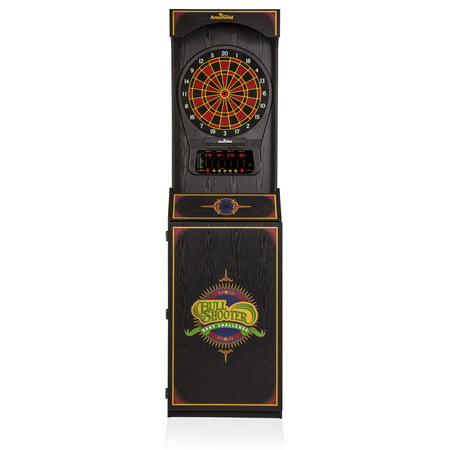 Arachnid Cricket Pro 650 Standing Electronic Dartboard with 24 Games, 132 Variations, and 6 Soft-Tip Darts