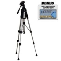 """57"""" Camera Tripod with Carrying Case For The Minolta MAXXUM 5D, 7D, Dimage A2, A1 Digital Cameras, Lightweight and collapsible to 22 inches By Deluxe,USA"""