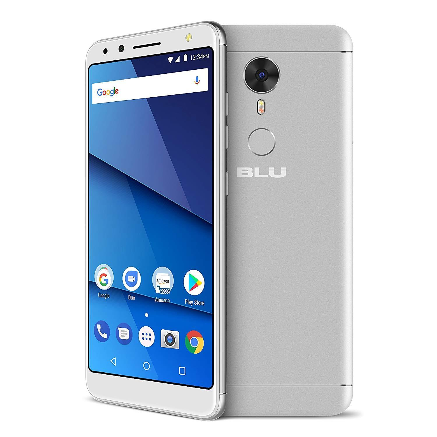 "BLU Vivo One 5.5"" V0270WW HD Smartphone 16GB GSM Unlocked 12MP Dual Sim Android - Silver"