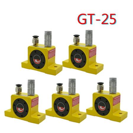 (5pcs)Industrial type Pneumatic compressed air power turbine wheel type vibrator
