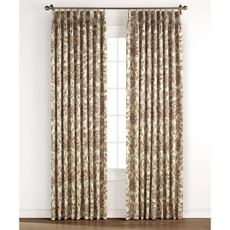 Monique Pinch Pleated Energy Efficient Curtain Panel Pair