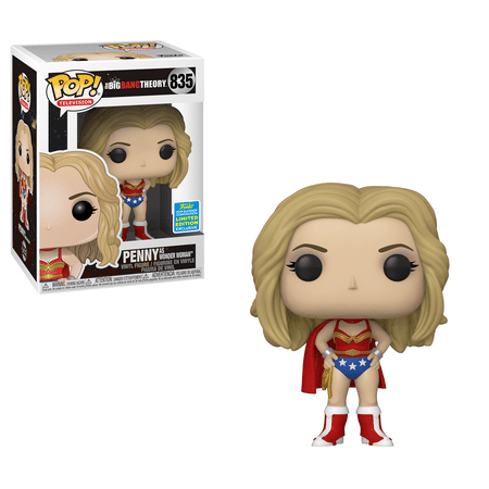 Amy Big Bang Theory Halloween (Funko POP TV: Big Bang Theory - Penny as Wonder Woman (Justice League Halloween) - Summer Convention)