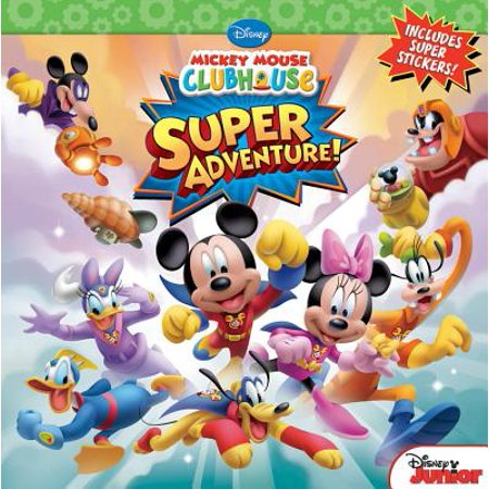 Mickey Mouse Clubhouse Super Adventure - Mickey Mouse Books