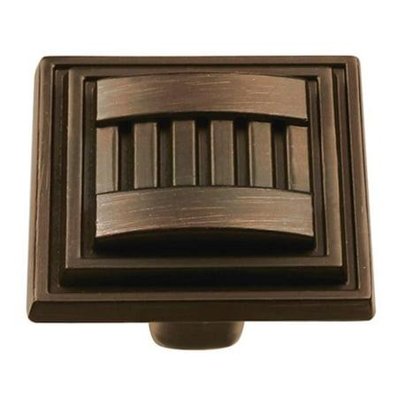 - BWHH74670 VB Belwith Knob, 1.31 in. Square Vintage Bronze
