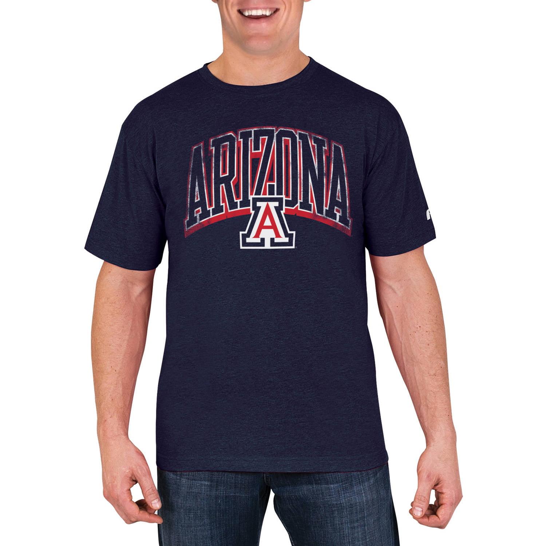 NCAA Arizona Wildcats Men's Cotton/Poly Blend T-Shirt