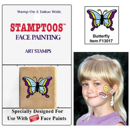 Graftobian Face Painting Stamps - Butterfly