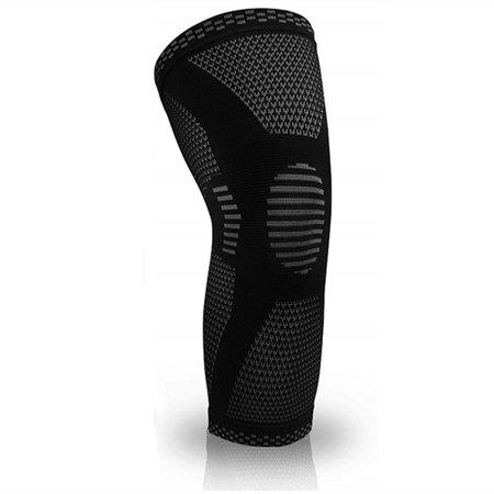Knee Wraps - Compression Knee Sleeve - Best Knee Brace for Men & Women (SINGLE) – Knee Support for Running, Crossfit, Basketball, Weightlifting, Gym, Workout, Sports (Best Elbow Wraps For Weightlifting)