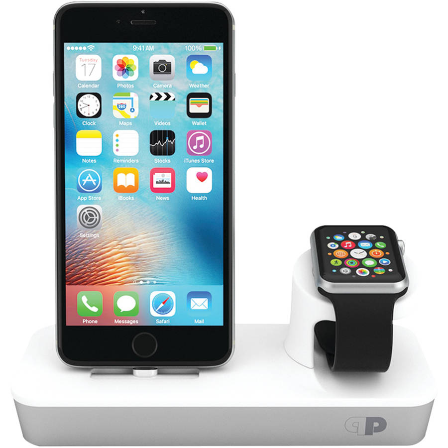 Press Play PPODMMFI/SLV Apple Watch/iPhone/iPod mini OneDock Powerstation with Lightning Dock