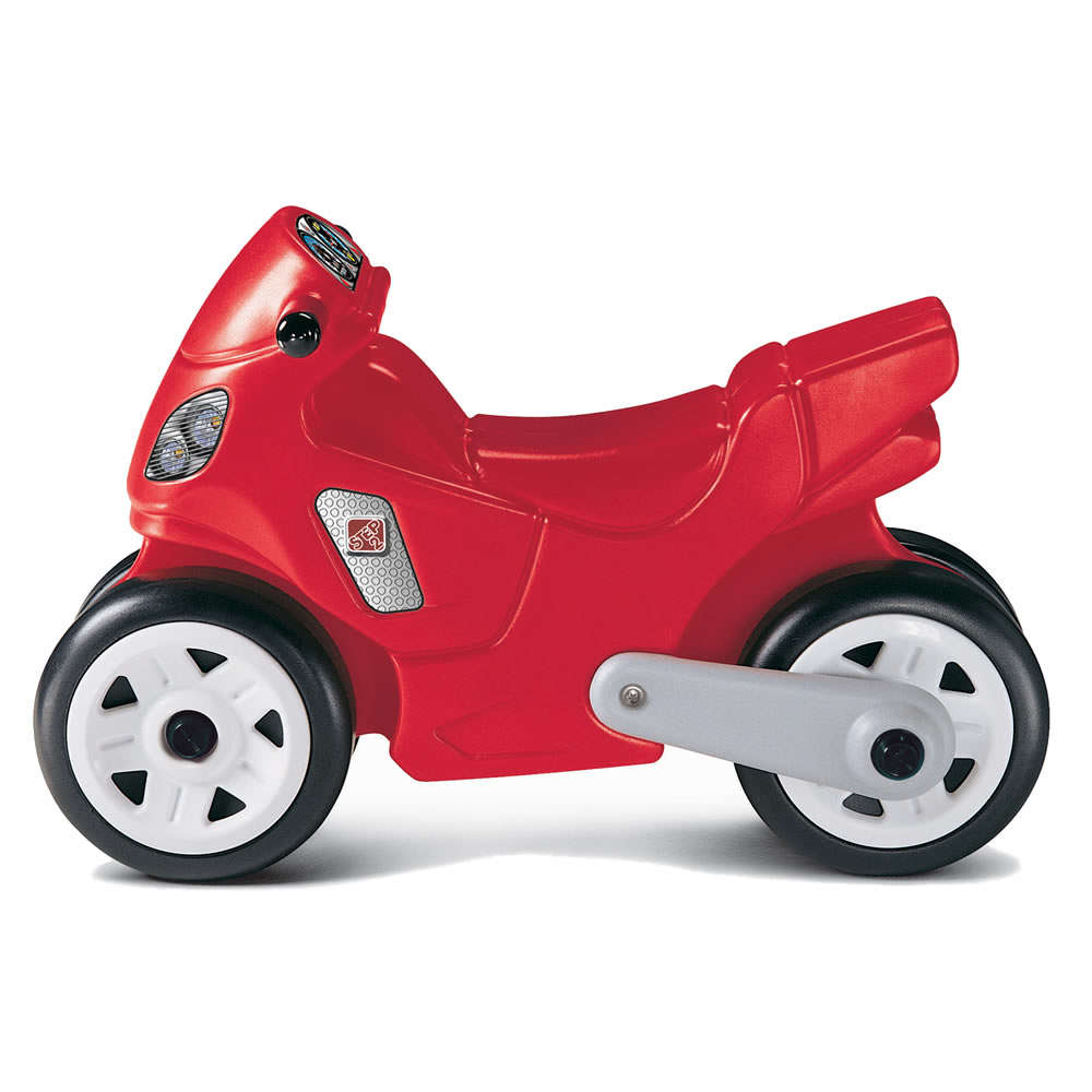 Step2 Motorcycle Ride-On for Kids, Red by Step2