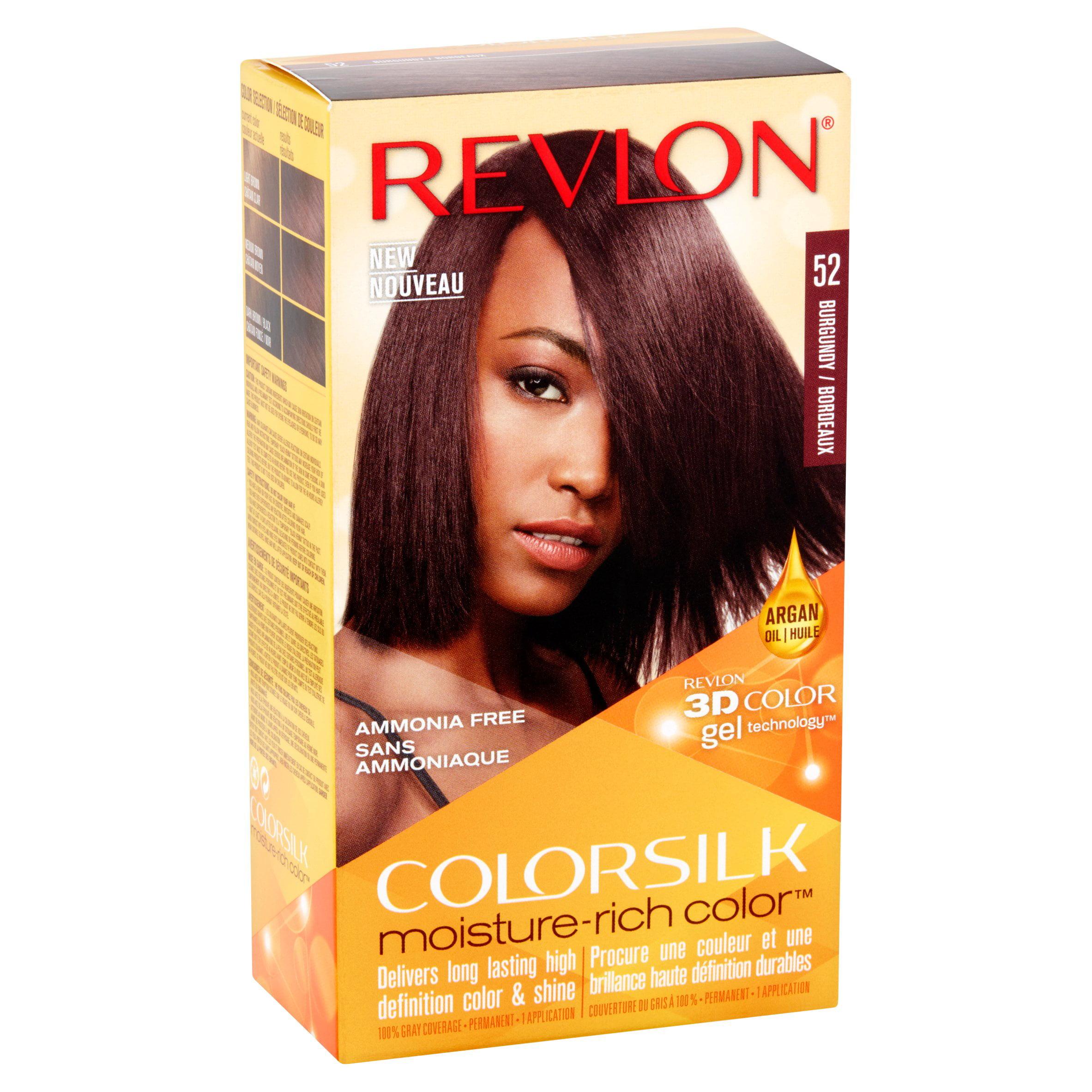 Revlon Colorsilk Moisture Rich Color 52 Burgundy Hair Color 1