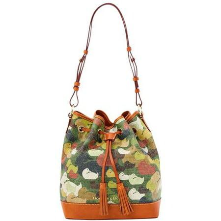 Dooney & Bourke Camouflage Duck Drawstring Shoulder Bag ()