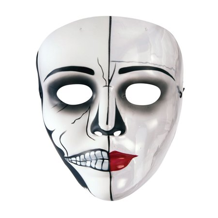 Female Phantom Transparent Mask Halloween Costume Accessory - Halloween Female