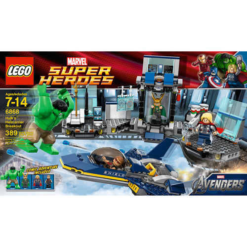 LEGO Marvel Super Heroes Hulk's Helicarrier Breakout Play Set