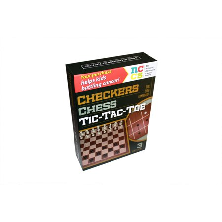 5 Star Checkers / Chess / Tic Tac Toe Set