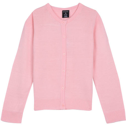 George Girls' School Uniform Cardigan Sweater