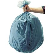 Rubbermaid Commercial Gray Tuffmade Polyliner Bags, 55 gal, 100 ct by Rubbermaid Commercial