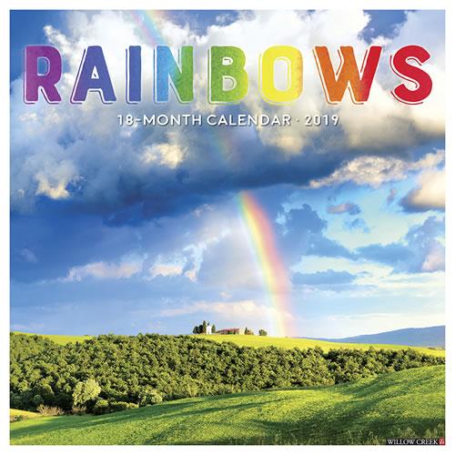 Willow Creek Press 2019 Rainbows Wall Calendar