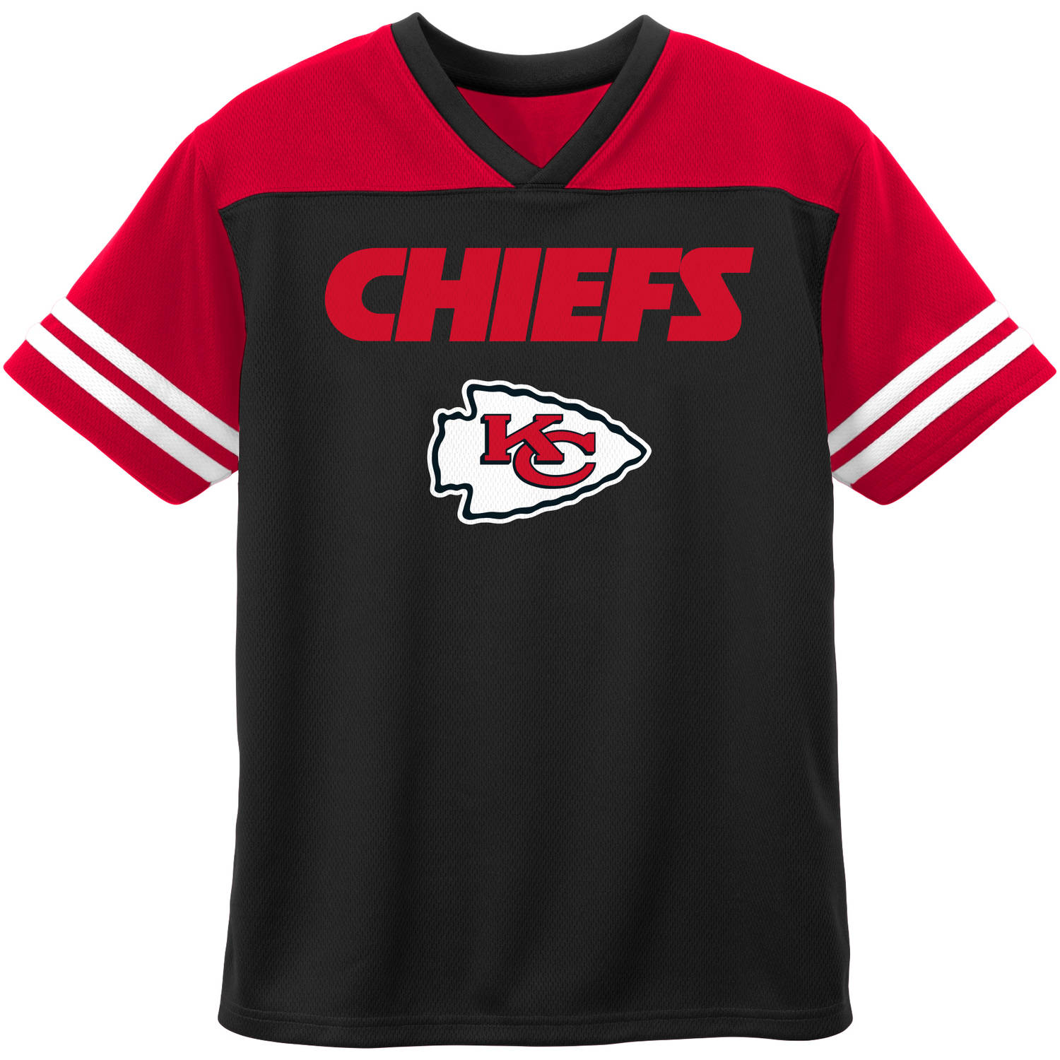NFL Kansas City Chiefs Toddler Short Sleeve Fashion Top