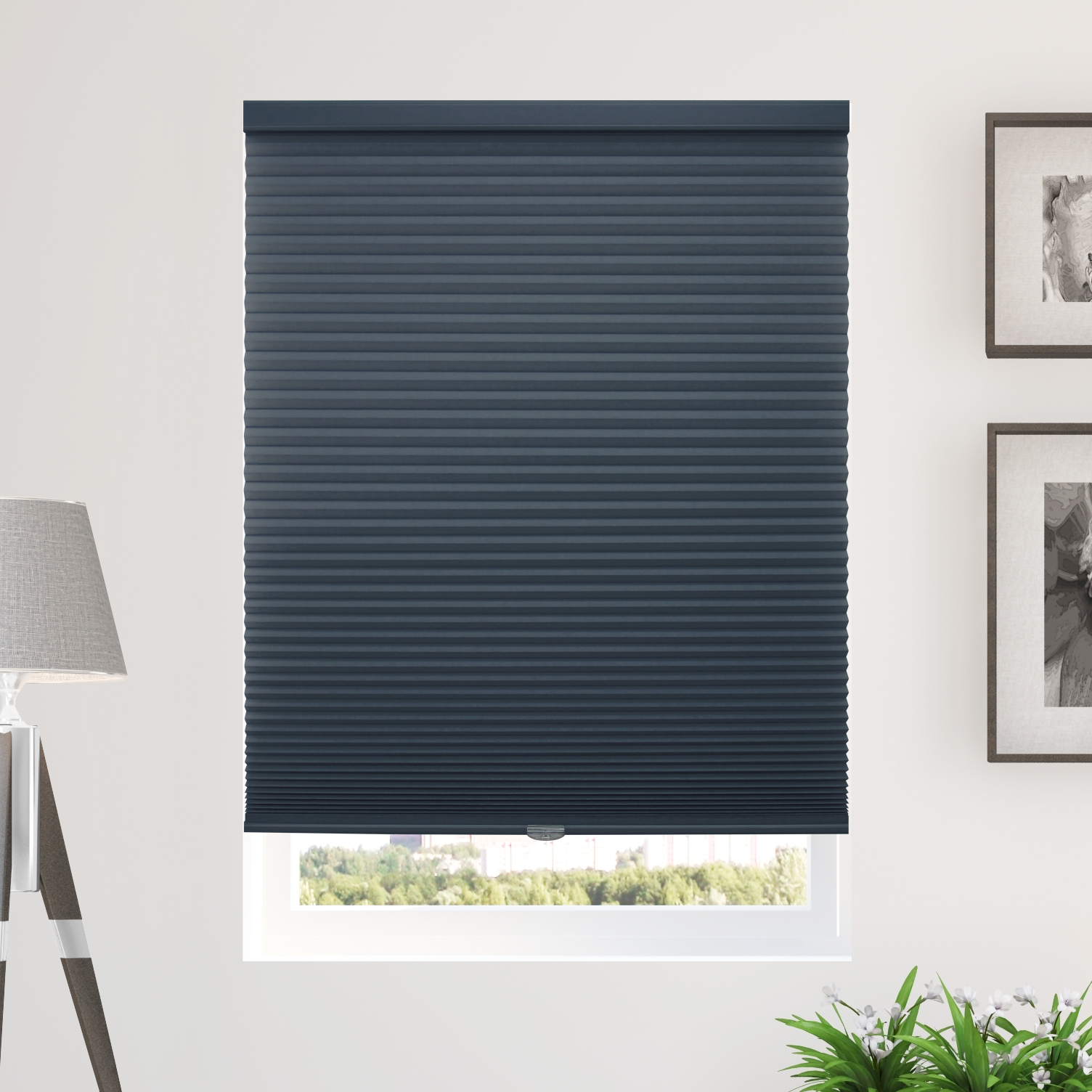 Chicology Cordless Cellular Shade Privacy Single Cell Window Blinds