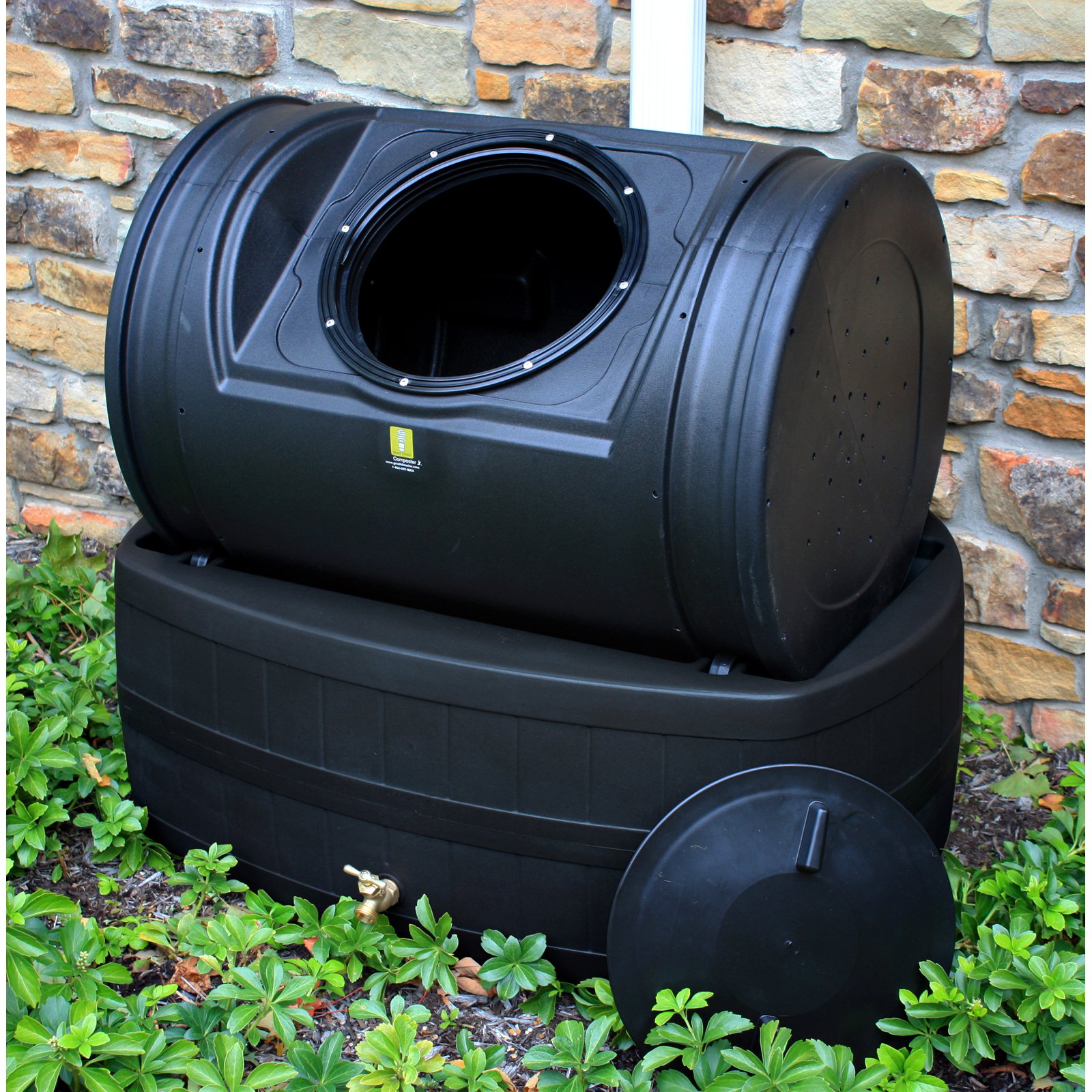 Good Ideas Rain Barrel and Compost Wizard Hybrid by Generic