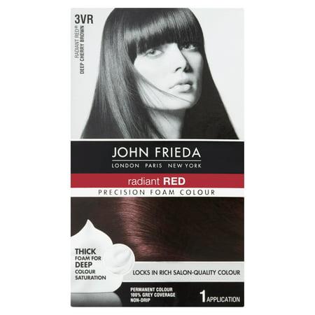 Deep Metallic Cherry (John Frieda Permanent Colour Radiant Red Deep Cherry Brown 3VR, 1.0)