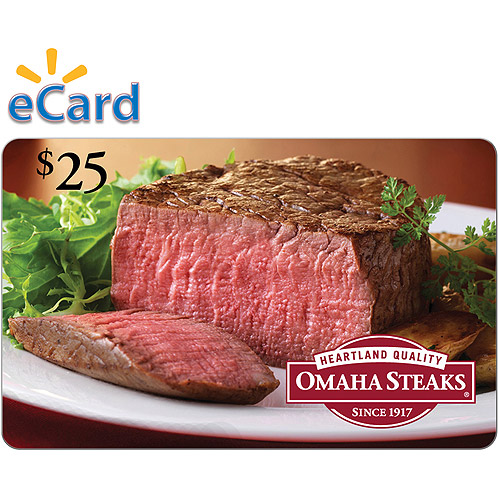 Omaha Steaks $25 (Email Delivery)