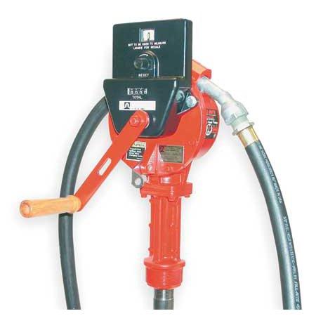 FILL-RITE FR112AC Hand Drum Pump, Rotary, 3/4In FNPT
