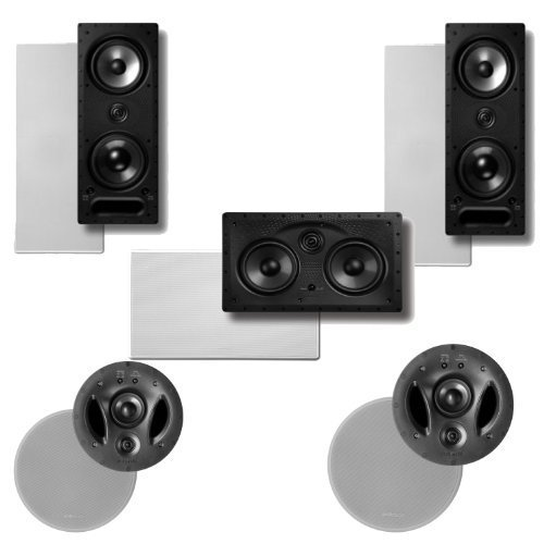 Polk Audio 700LS High Performance In-Ceiling   In-Wall Speaker System Package by Polk Audio
