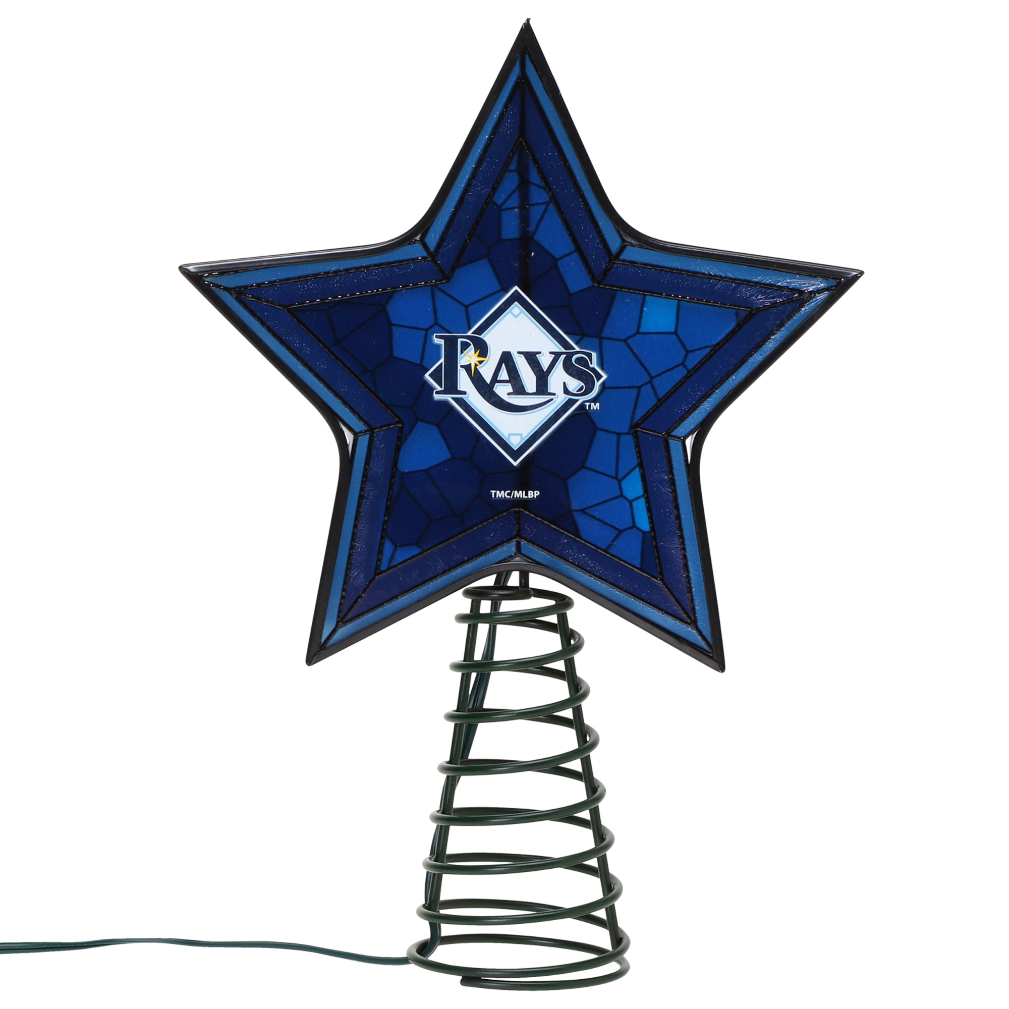 Tampa Bay Rays Mosaic Tree Topper - No Size