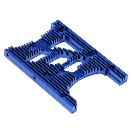 Savage Motor Plate - Integy RC Toy Model Hop-ups T6978BLUE HD Engine Heatsink Plate for HPI Savage XL & X 4.6 RTR