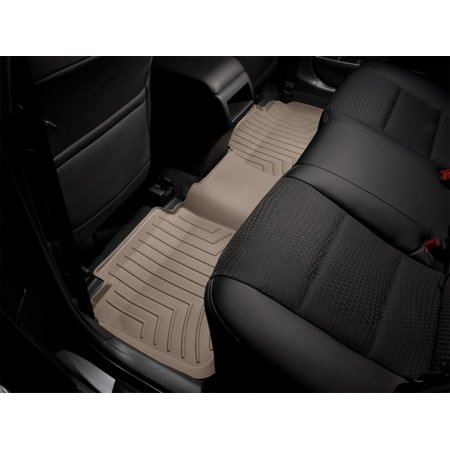 WeatherTech 2015+ Kia Sedona w/ 2nd Row Lounge Seats Rear FloorLiner - Tan (w/o Rear