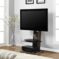 """Ameriwood Home Galaxy TV Stand with Mount for TVs up to 50"""" Wide, Walnut"""