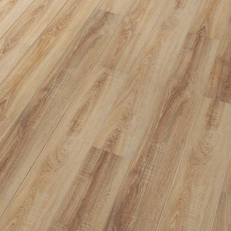 ELESGO Super Gloss Laminate Floor in Nostalgic Natural Oak, 20.67 Sq. F.