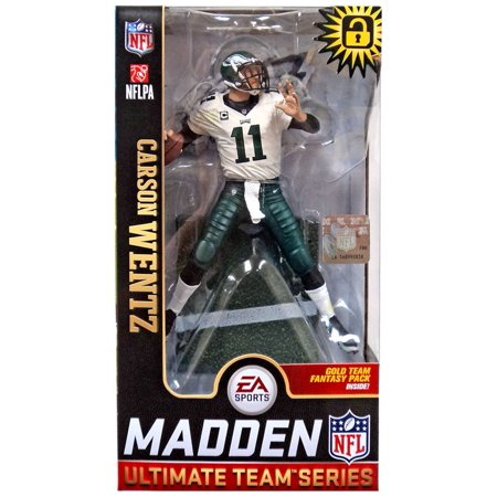 McFarlane NFL EA Sports Madden 19 Ultimate Team Series 1 Carson Wentz  Action Figure  Variant  - Walmart.com 970969e02