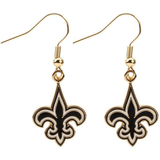 New Orleans Saints Logo Wire Earrings No Size