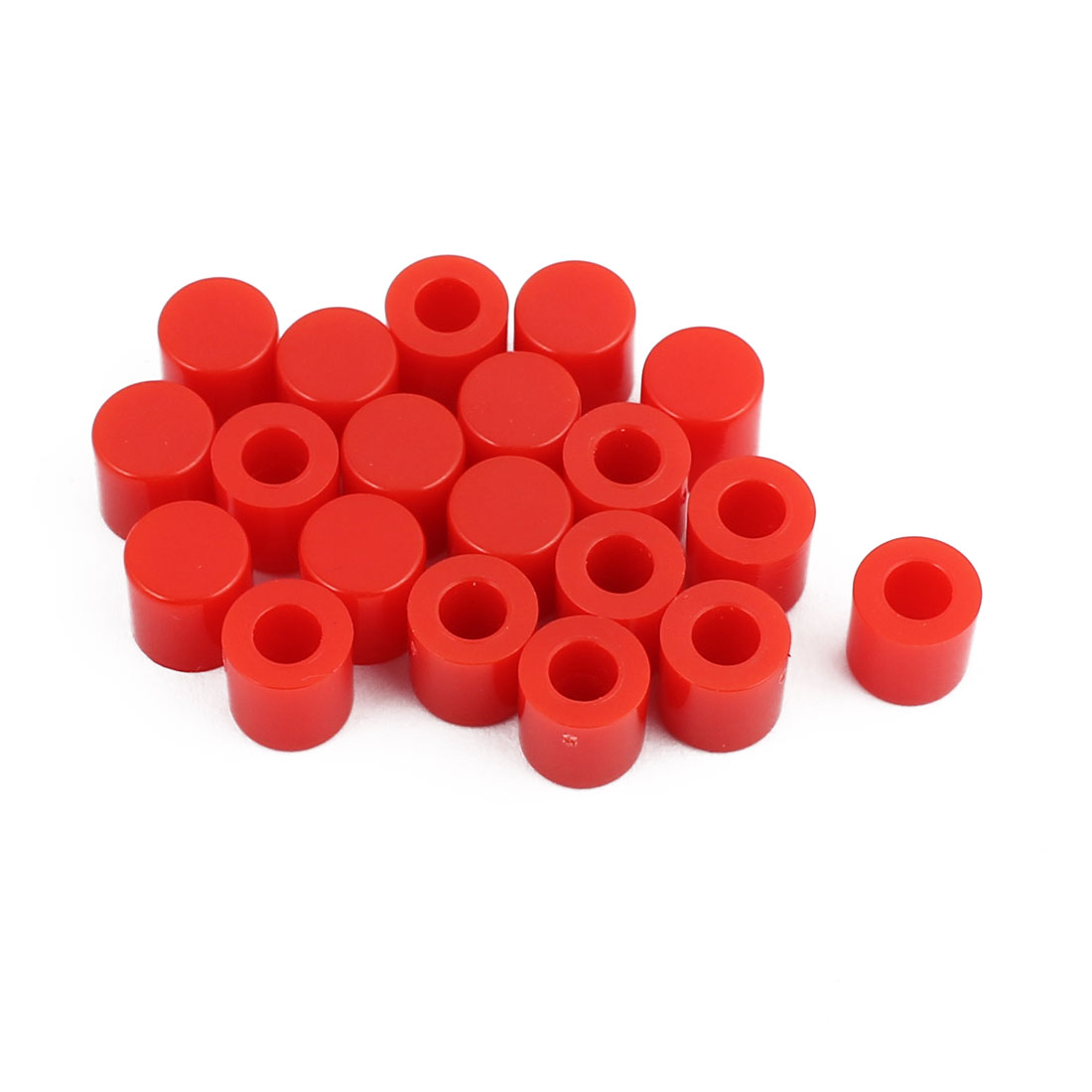 20Pcs Round Shaped Tactile Button Caps Covers f 6x6mm Tact Switch