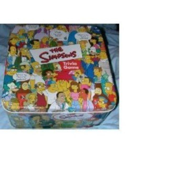 The Simpsons Trivia Game in Collectible Tin (2000) by