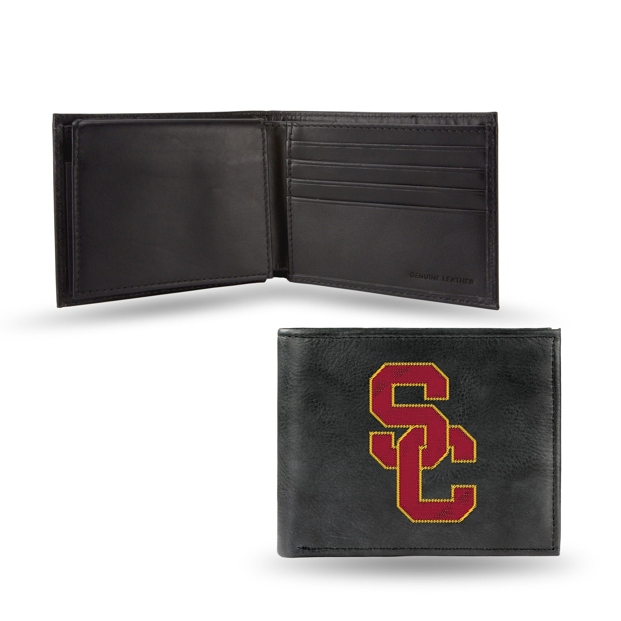 NCAA - Men's Southern California Trojans Embroidered Billfold Wallet